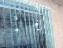 Sliding Strip Curtain